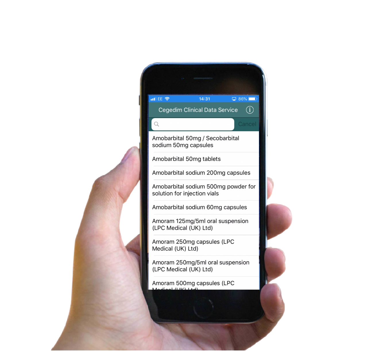 Clinical-data-services-phone-app