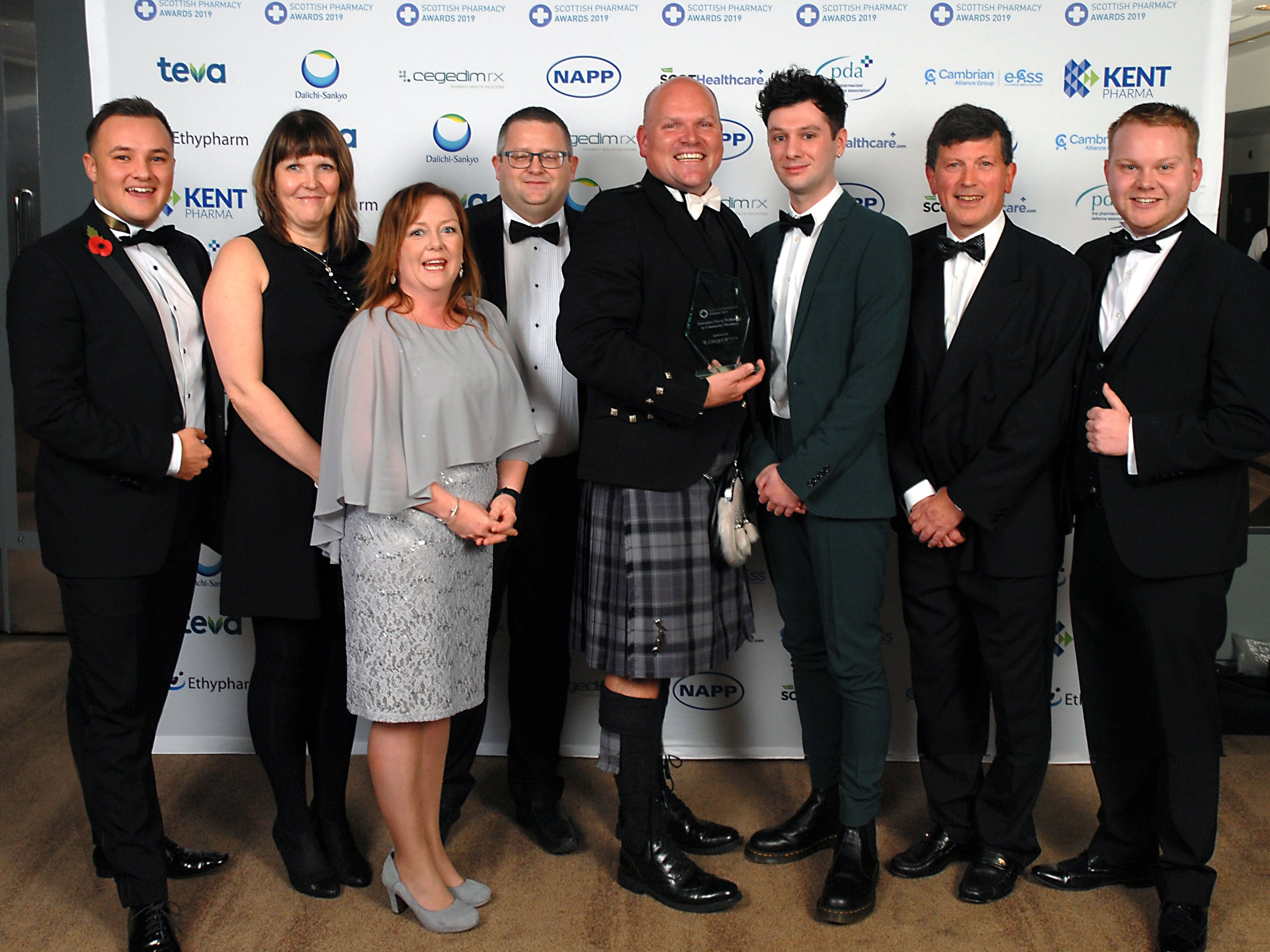 Innovative Use of Technology in Community Pharmacy Award winner, Noel Wicks and Team, Right Medicine Pharmacy Group